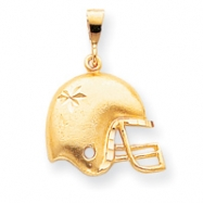 10k FOOTBALL HELMET CHARM
