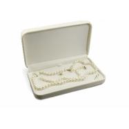14K 7-7.5mm White Freshwater Pearl Set