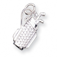 Sterling Silver Golf Bag Charm