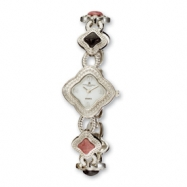 Ladies Charles Hubert Dumortierite/Rhodonite Bracelet Watch