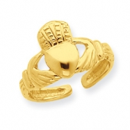 14k Claddagh Toe Ring