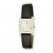 Croton Ladies Swiss 0.30ct. Diamond Mother of Pearl Dial Watch