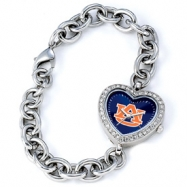 Ladies Auburn University Heart Watch