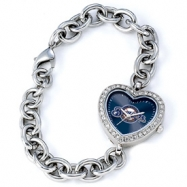 Ladies MLB Milwaukee Brewers Heart Watch