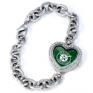 Ladies MLB Oakland Athletics Heart Watch