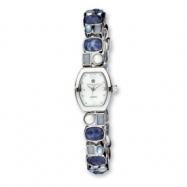 Ladies Charles Hubert Sodalite/Blue Agate/MOP Bracelet 18x22mmWatch