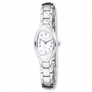 Ladies Charles Hubert IPS-plated White Dial 20mm Watch