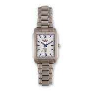 Mens Cardinal Stainless Steel Silver Dial Watch
