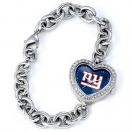 Ladies NFL New York Giants Heart Watch