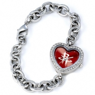 Ladies NBA Houston Rockets Heart Watch