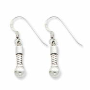 Sterling Silver Reflections Short Earring