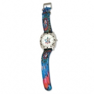 Tie Dyed Turtle Dutchman Multicolor Band Watch ring