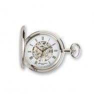 Charles Hubert Two-tone Gold-plated Pocket Watch