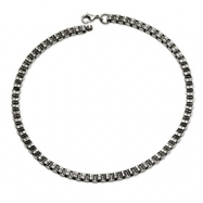 Stainless Steel Circlualr Links Necklace chain