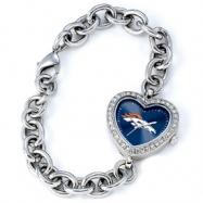 Ladies NFL Denver Broncos Heart Watch