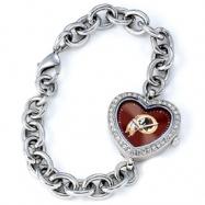 Ladies NFL Washington Redskins Heart Watch
