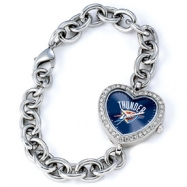 Ladies NBA Oklahoma City Thunder Heart Watch