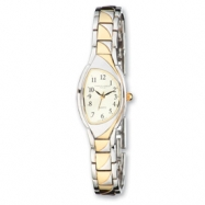 Ladies Charles Hubert IPS/IPG-pltd 2-tone Champagne Dial 20mm Watch