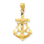 10k Mariner Crucifix Charm