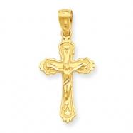 10k Crucifix Charm