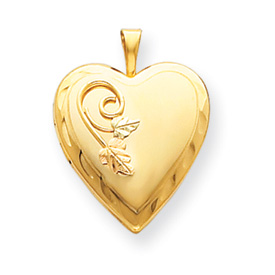 10k Black Hills Gold 14k Gold-filled Heart Locket