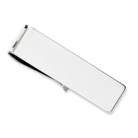 14k White Gold Money clip