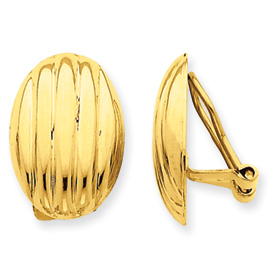 14k Non-pierced Fancy Earrings