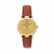 Ladies Kremena Gold-plated Champagne Dial Quartz Analog Watch