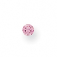 Synthetic 2mm Round February Birthstone