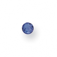 Synthetic 2mm Round September Birthstone