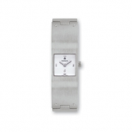 Ladies Kremena Palladium-plated White Dial Swiss Quartz Watch