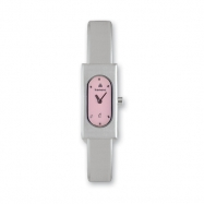 Ladies Kremena Palladium-plated Pink Dial Swiss Quartz Watch