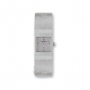 Ladies Kremena Palladium-plated Gray Dial Swiss Quartz Watch