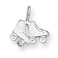 Sterling Silver Roller Skates Charm