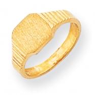 14k Signet Ring