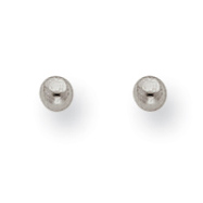 Titanium 3mm Ball Post Earrings