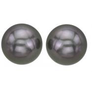 Black Pearl Earring-Studs
