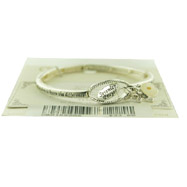 "Silver-color Stretch Bracelet ""Serenity Prayer"""