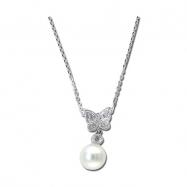 Pearl Diamond Necklace