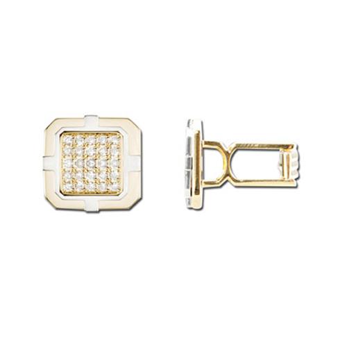 Diamond Cufflink. Price: $2862.00