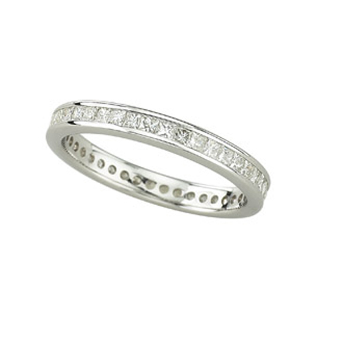 Eternity Diamond Band - white gold. Price: $1990.00