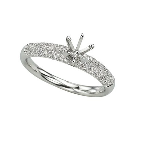 Diamonds Semi-Mount Ring. Price: $954.00