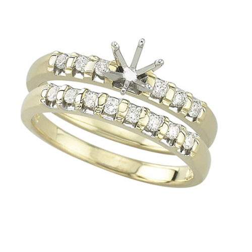 Diamonds Semi-Mount. Price: $942.00