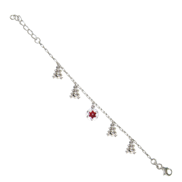 Sterling Silver Adjustable Childrens Bracelet. Price: $12.95