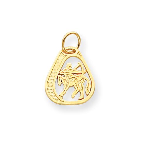 14k Sagittarius Charm. Price: $104.44