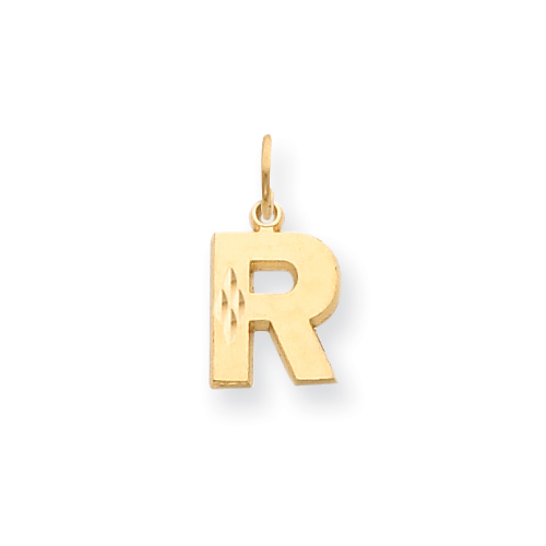 14k Initial R Charm. Price: $109.36