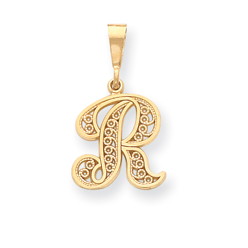 14k Initial R Charm. Price: $138.90