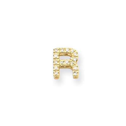 14k Diamond Initial R. Price: $371.14