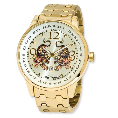 Mens Ed Hardy Stellar Tiger Watch. Price: $140.00