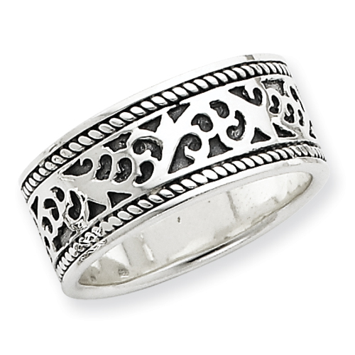 Sterling Silver Antiqued Band ring. Price: $41.94